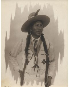 William Pennington (1874-1949) - Portrait of an Indian Man attributed to Pen-Dike Studio
