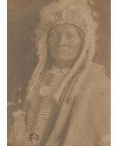 Richard Throssel (1882-1933) - Portrait of an Indian Man