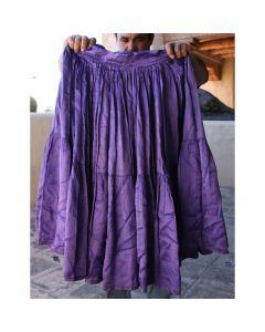 """Vintage Navajo Purple / Violet Skirt, circa 1940-50s, Fits 26"""" Waist"""