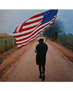 Dan Budnik - Selma to Montgomery March, Will Henry 'Do Right' Rogers on the Gardner Farm Road