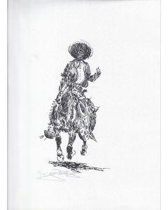 SOLD Jack Van Ryder (1899-1968) - Vaquero on Horse