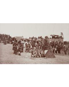 Ben Wittick (1845-1903) - Snake Dance at Oraibi, Moqui Indian Village, Arizona