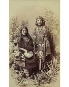 Ben Wittick (1845-1903) - Gayatenito (Gaventen) and Maila Navajo