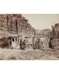 Ben Wittick (1845-1903) - Hava-supai Dwelling, Arizona