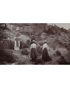 Lot 209 - Ben Wittick (1845-1903) - Mass in the Wilderness of Arizona (M1665)