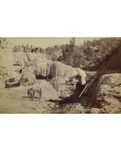 Ben Wittick (1845-1903) - The Old Soda Dam, Jemez River, N.M., 1880