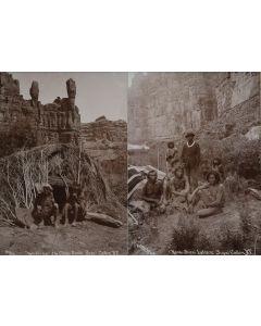 Ben Wittick (1845-1903) - Wi-Kli-Va, The Chief's Rocks Supai Cañon, A.T. & Hava-supai Indians, Supai Cañon