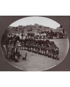 Ben Wittick (1845-1903) - Snake Dance Of The Moquis, Aug. 22nd, 1898, Village of Oraibi, Arizona