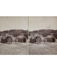 Ben Wittick (1845-1903) - Bake Ovens of Zuni