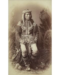 SOLD Ben Wittick (1845-1903) - Nalte Chief of The San Carlos Apaches, Arizona