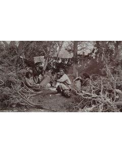 Ben Wittick (1845-1903) - A Navajo Camp Scene, New Mexico