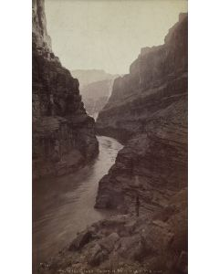 Ben Wittick (1845-1903) - In The Grand Cañon of the Colorado, Mouth of Supai Cañon, Arizona