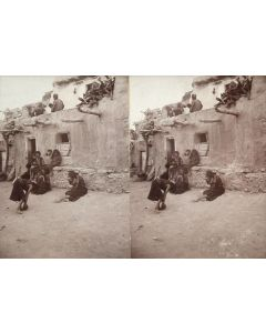 Ben Wittick (1845-1903) - View in Mushangnavi, Moqui
