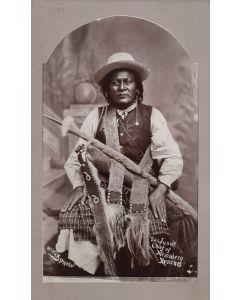Ben Wittick (1845-1903) - San Juan Chief of Mescalero Apaches, 1890