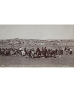 Ben Wittick (1845-1903) - A Trip to Zuni, the Gathering at the Shalako Dance, November 1896