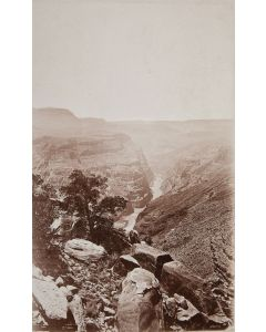 Ben Wittick (1845-1903) and John K. Hillers (1843-1925) - Grand Canyon Valley, 1872