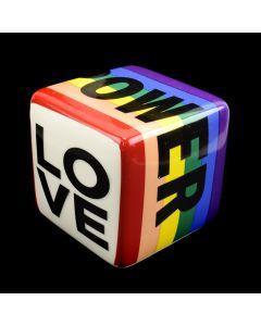 Kaiser Suidan - Porcelain Rainbow Power and Love Cube