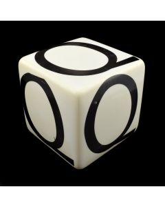 """Kaiser Suidan - Porcelain """"Q"""" Cube"""