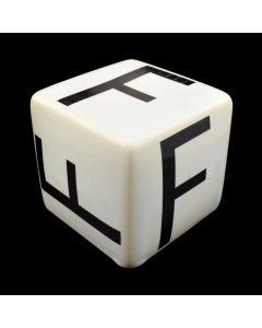 "Kaiser Suidan - Porcelain ""F"" Cube"