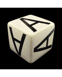 "Kaiser Suidan - Porcelain ""A"" Cube"