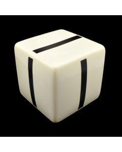 "Kaiser Suidan - Porcelain ""I"" Cube"
