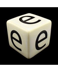 "Kaiser Suidan - Porcelain ""e"" Cube"