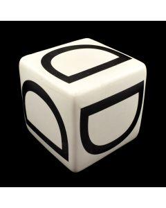 "Kaiser Suidan - Porcelain ""D"" Cube"