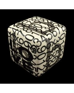 Kaiser Suidan - Black and White Number Porcelain Cube
