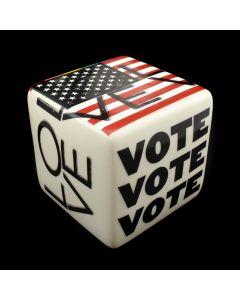 "Kaiser Suidan - Rainbow ""VOTE LOVE"" Porcelain Cube"