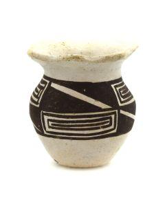 """Wanda Aragon (b. 1948) - Miniature Acoma Jar c. 1970s, 1.25"""" x 1"""""""