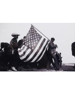 Dan Budnik (b. 1933) - The Big Flag (M1757)
