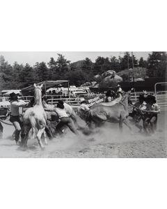 Louise Serpa - Wild Horse Race - Prescott, AZ