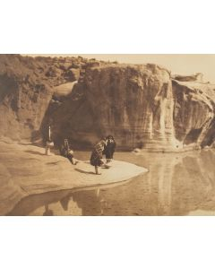 Edward S. Curtis (1868-1952) - Acoma Water Carriers