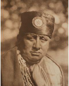 Edward S. Curtis (1868-1952) - John Abbott - Osage