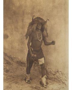 Edward S. Curtis (1868-1952) - Sia Buffalo Dancer
