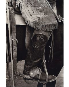 Louise Serpa (1925-2012) - Chaps & Spurs I, Captain, New Mexico