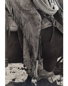 Louise Serpa (1925-2012) - Chaps & Spurs III, Captain, New Mexico