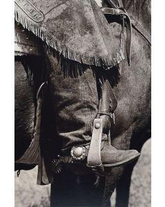 Louise Serpa (1925-2012) - Chaps & Spurs IV, Sieben Ranch, Helene, Montana