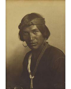 Karl Everton Moon (1879-1948) - Pueblo Man