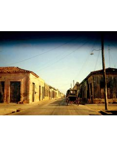Ned Sublette - Cardenas through the windshield of a rented car