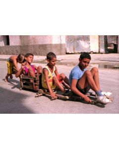 Ned Sublette - Four Boys with Homemade Wagons, Matanzas