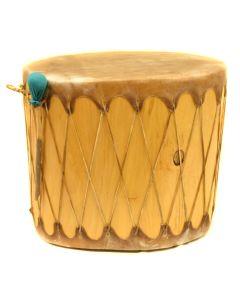 """Taos Pueblo Drum, 24"""" x 24"""""""