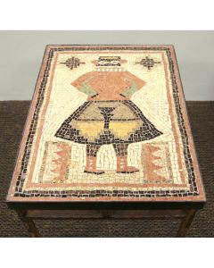 Anne Ziemienski - Kachina Mosaic Table