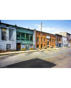 Nathan Benn - Main Street, Hickman, Kentucky, 1983