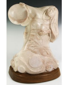 SOLD Doug Hyde - Moon Girl (Colorado Alabaster)