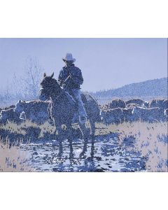 Billy Schenck - Morning in Moran, State II