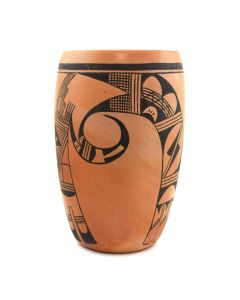 "Violet Huma (1930-1982) - Hopi Vase c. 1960-70s, 9.5"" x 6"""