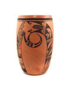 "Lot 282 - Violet Huma (1930-1982) - Hopi Polychrome Vase c. 1960-70s, 9.25"" x 5.75"" (P2681)"