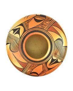 """Hopi Polychrome Jar c. 1940s, 5"""" x 9"""""""