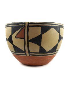 """Santo Domingo Bowl c. 1930s, 7.25"""" x 10"""""""